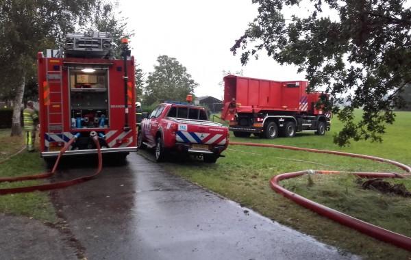 Boerderijbrand Slaagseweg