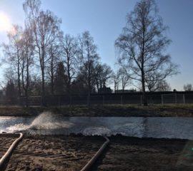 IJsbanen aanleggen in Leusden