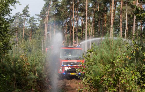 Natuurbrand in Baarn
